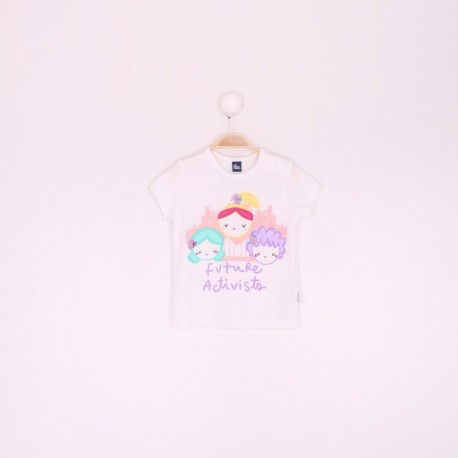 SMV-191051 Mayorista de ropa infantil Camiseta bebe niña -