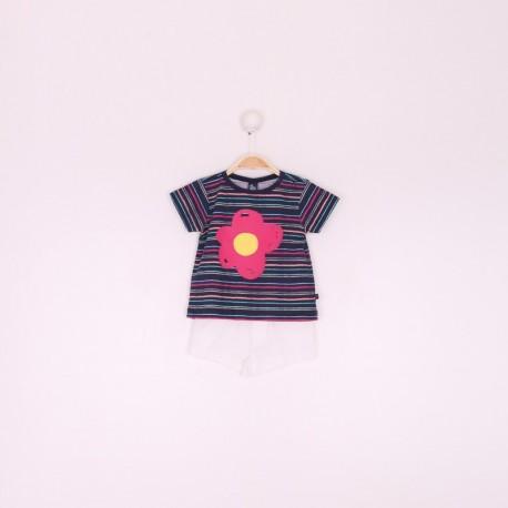 SMV-191007 Mayorista de ropa infantil Conjunto bebe niña -