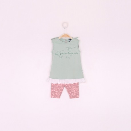 SMV-191041 Mayorista de ropa infantil Conjunto bebe niña -