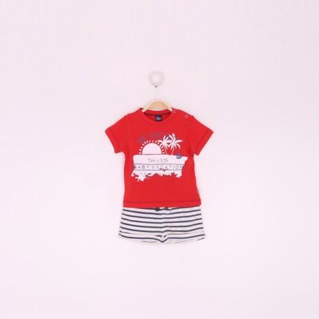 SMV-190010 Mayorista de ropa infantil Conjunto niño - Street