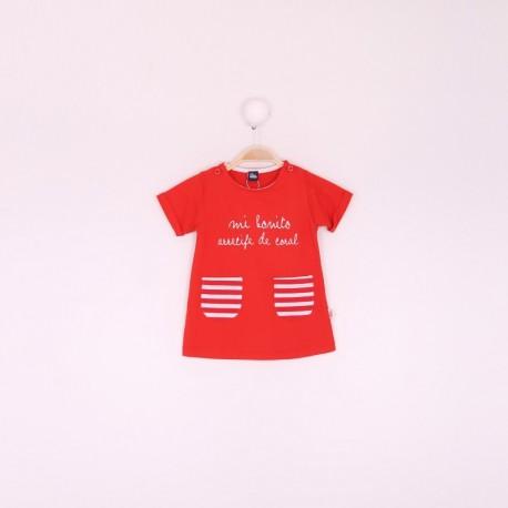 SMV-191034 Mayorista de ropa infantil Vestido bebe niña -