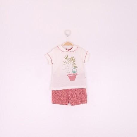 SMV-191039-1 Mayorista de ropa infantil Conjunto niña - Street