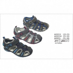 Sandalias playeras - Calzados DK - DKV-A0001S
