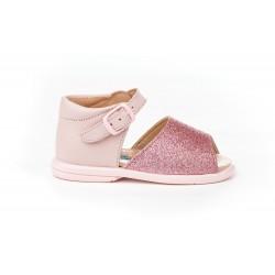 Angelitos® zapato niña sandalias de piel. fabricado en españa - Angelitos - ANGV-922