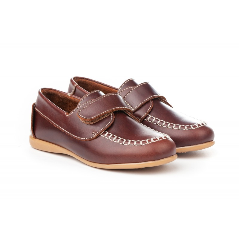 ddca7bd807c Angelitos® zapato niño naúticos de piel. fabricado en españa - Angelitos -  ANGV-. Loading zoom