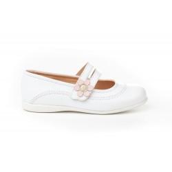 Angelitos® zapato niña merceditas de piel. fabricado en españa - Angelitos - ANGV-524