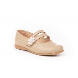 Angelitos® zapato niña merceditas de piel. fabricado en españa - Angelitos - ANGV-524-2
