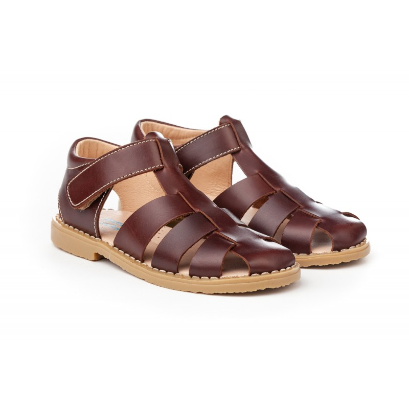 06ea69f9cf8 Angelitos® zapato niño sandalias de piel. fabricado en españa - Angelitos -  ANGV-. Loading zoom