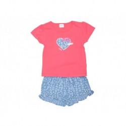 Cjto./a m/c falda hearts - KATUCO - TAV-191 73101 - Katuco - TAV-191 73101