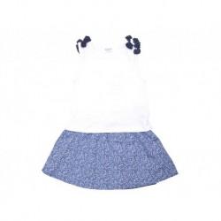 Cjto./a s/m falda lazos azules - KATUCO - TAV-191 73104