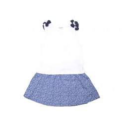 Cjto./a s/m falda lazos azules - KATUCO - TAV-191 75104