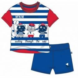 TMBB-73016-1 Comprar ropa al por mayor Conjunto corto bebe