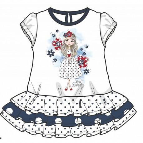 TMBB-73096-2 ropa bebe al por mayor Vestido bebe niña -