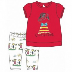 TMBB-73186-1 ropa bebe al por mayor Conjunto corto bebe niña -