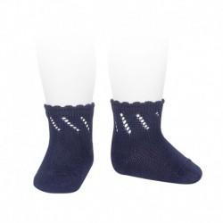 Calcetines cortos calados perlé - Condor - CONV-2598/4