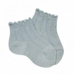 Calcetines cortos labrados - Condor - CONV-2393/4L