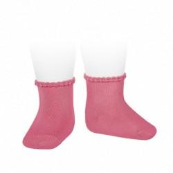 Calcetines cortos puño labrado - Condor - CONV-2748/4L