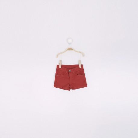 SMV-191288-1*1 Mayorista de ropa infantil Pantalon corto niña