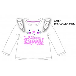 TMBB-72347 proveedor ropa de niñas Camiseta manga larga -
