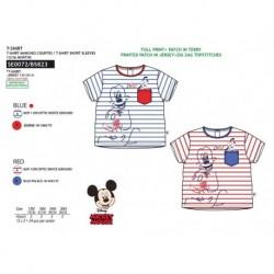 Camiseta mickey manga corta