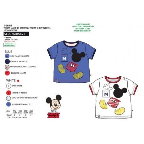 TMBB-SE0076-1 Comprar ropa al por mayor Camiseta mickey manga