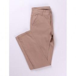 Pantalon largo 95% algodón 5 % elastano