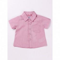 Camisa manga corta 100% algodón