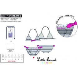 Slip baño little marcel - Little Marcel - NFV-LMSE1713WHITE