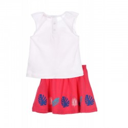 TMBB-LMSE0013WHITE Comprar ropa al por mayor Conjunto little