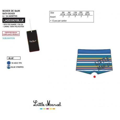 TMBB-LMSE0005BLUE Comprar ropa al por mayor Boxer baño little