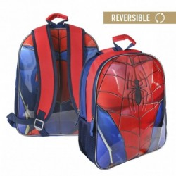 Mochila escolar reversible spiderman - CI-2100002154