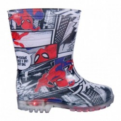 Botas lluvia pvc luces spiderman - CI-2300003483