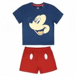 Pijama corto algodón mickey - CI-2200003457