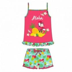 Pijama corto algodón single jersey minnie - CI-2200005234