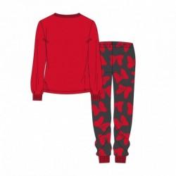 Pijama largo coral fleece minnie - CI-2200004819