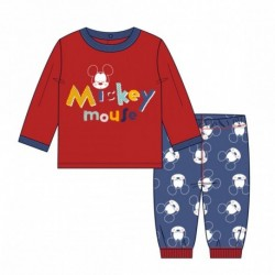 Pijama largo interlock mickey - CI-2200004668
