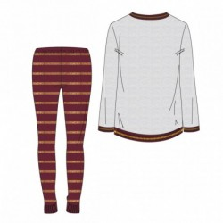 Pijama largo single jersey harry potter gryffindor - CI-2200004818