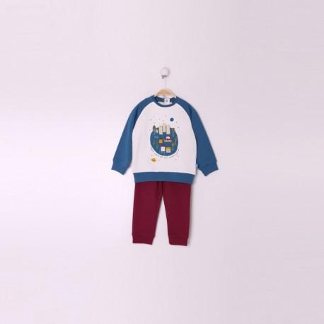 SMI-29002 comprar ropa infantil al por mayor Conjunto Bebe Niño