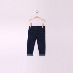 Pantalon Bebe Niña Color Azul Denim
