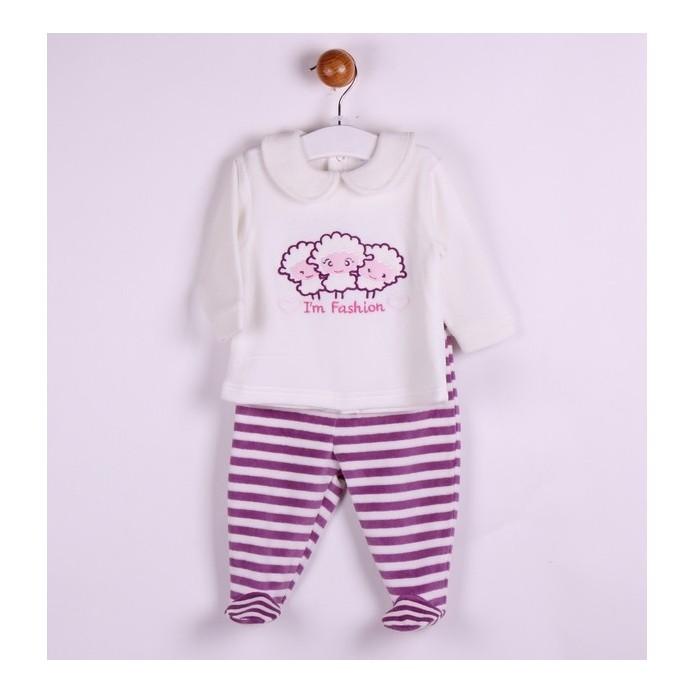 Pijama tercio-pelo - Newness - TMBB-BGI04640 almacen mayorista