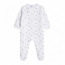 Pijama algodón gordo estampado