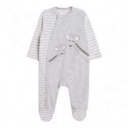 Pijama terciopelo girafas