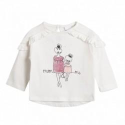 Camiseta perfil trasero madre e hija