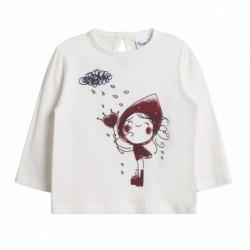 Camiseta niña en lluvia