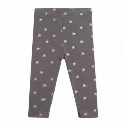 Legging gris estrellas plateadas