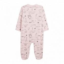 Pijama abierto delantero