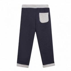 Pantalon deportivo perchado bolsillo grande delantero