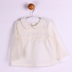 TMBB-BGI04517 Newness ropa infantiil al por mayor Blusa manga