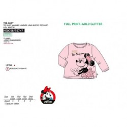 Camiseta ml 100%algodon-SCI-HS0058-MINNIE