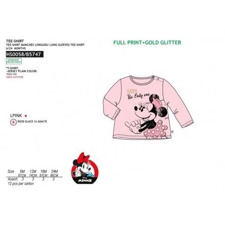 Camiseta ml 100%algodon-SCI-HS0058-MINNIE